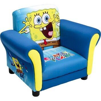 Delta Children Spongebob Kids Club Chair Amp Reviews Wayfair