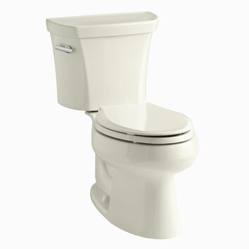 Kohler Wellworth Two Piece Elongated 1 6 Gpf Toilet With