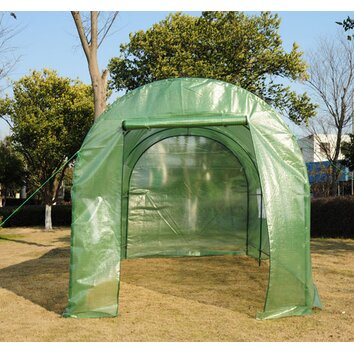 Aosom outsunny 7 ft w x 15 ft d greenhouse reviews for Aosom llc outsunny chaise lounge