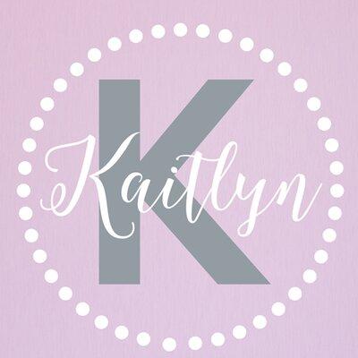 Alphabet garden designs kaitlyn dots monogram personalized for Alphabet garden designs