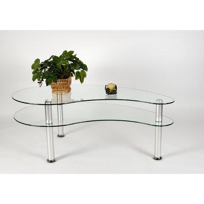 Tier One Designs 2-Tier Freeform Coffee Table