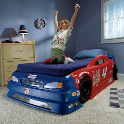 Step2 Children's Furniture Stock Twin Car Bed