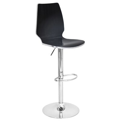 LumiSource Danata Adjustable Height Swivel Bar Stool