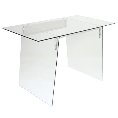 LumiSource Glacier Writing Desk