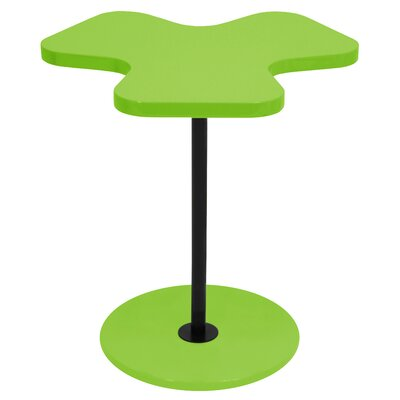 LumiSource Three Leaf Clover End Table