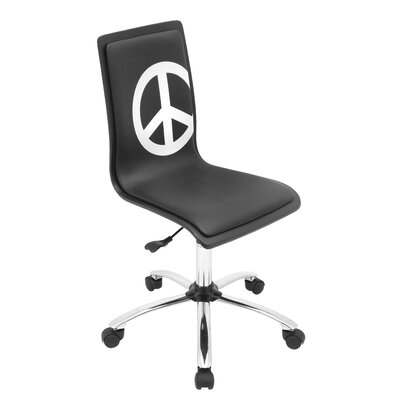 LumiSource Peace Printed Task Chair