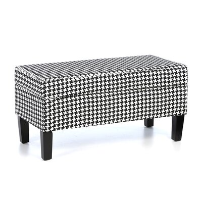 One Allium Way Bernice Cotton Storage Ottoman