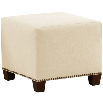 Skyline Furniture Chambers Nail Button Ottoman