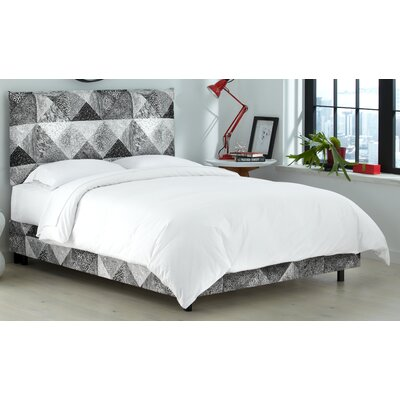 Wade Logan Nicolas Upholstered Panel Bed