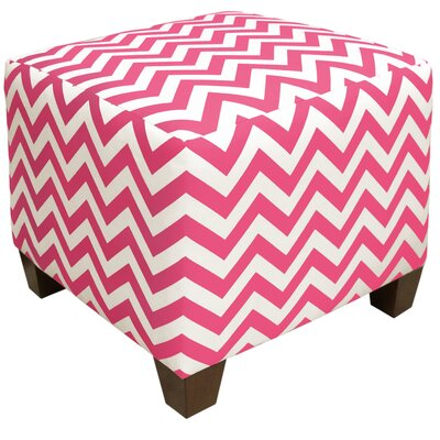 Zipcode™ Design Michelle Square Ottoman in Candy Pink