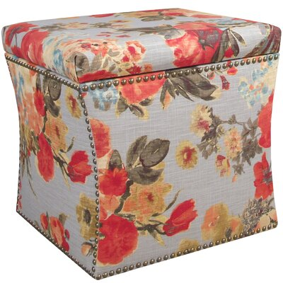 House of Hampton Seneffe Nail Button Storage Ottoman