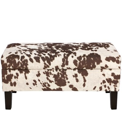 Trent Austin Design Chamberlin Polyester Upholstered Storage Bedroom Bench