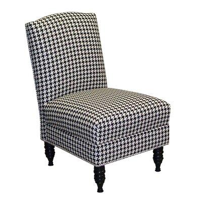 Skyline Furniture Berne Nail Button Slipper Armless Chair