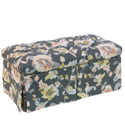 Skyline Furniture Aurora Tufted Fabric Upholstered Storage Bench