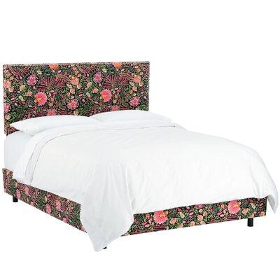 World Menagerie Fukuoka Upholstered Panel Bed