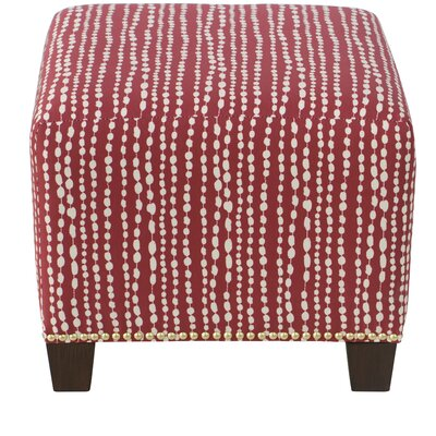 Latitude Run Latisha Square Nail Button Ottoman
