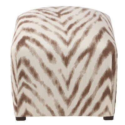 Skyline Furniture Aurora Small Ottoman Image