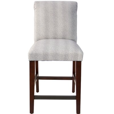 Darby Home Co Cynthia Faux Fur Upholstered Bar Stool