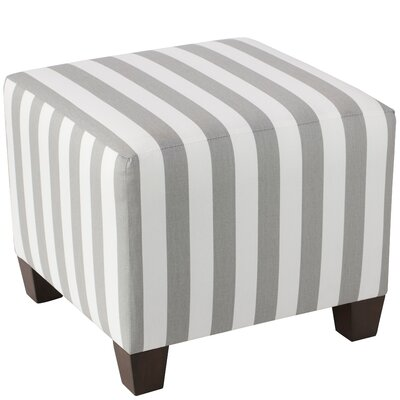 Alcott Hill Forestburgh 100% Cotton Square Ottoman