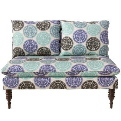 Latitude Run Wodella Medallion Armless Chaise Lounge