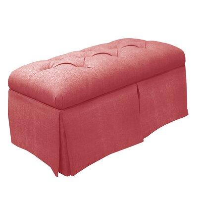 Skyline Furniture Tufted Fabric Storage Bench U0026 Reviews   Wayfair