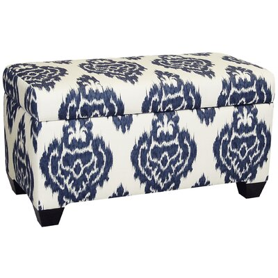 Skyline Furniture Diamon Upholstered Cotton Storage Ottoman