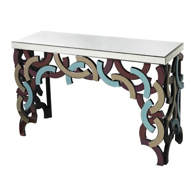 Sterling Industries Glass Console