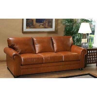 Omnia Leather Georgia Leather Loveseat