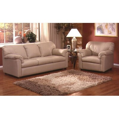 Omnia Leather Tahoe Leather 3 Seat Sofa Living R..