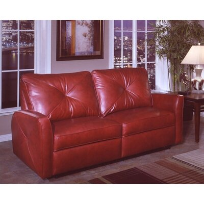 Omnia Leather Bahama Leather Reclining Sofa