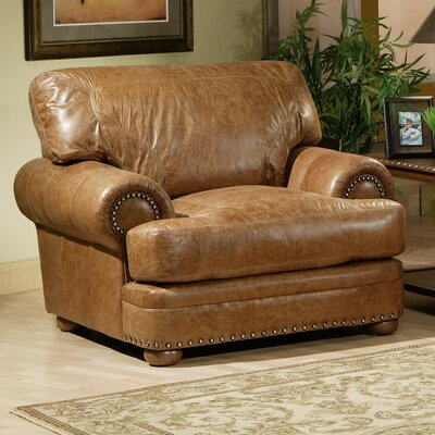 Omnia Leather Houston Leather Chair