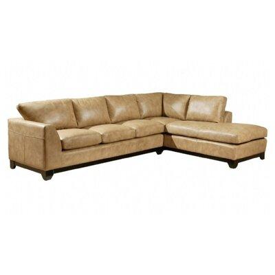 Omnia Leather City Sleek Leather Living Room Set