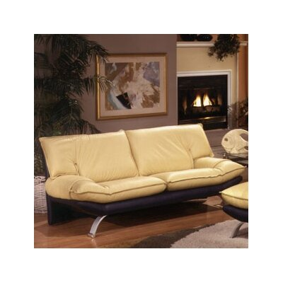 Omnia Leather Princeton Leather Loveseat