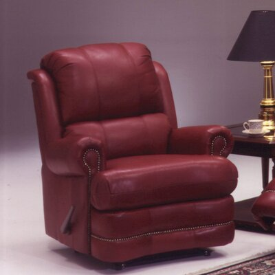 Omnia Leather Morgan Leather Recliner