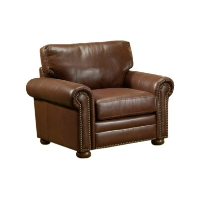Omnia Leather Savannah Leather Chair