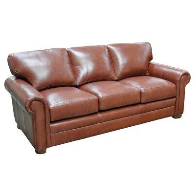 Omnia Leather Georgia Leather Sofa