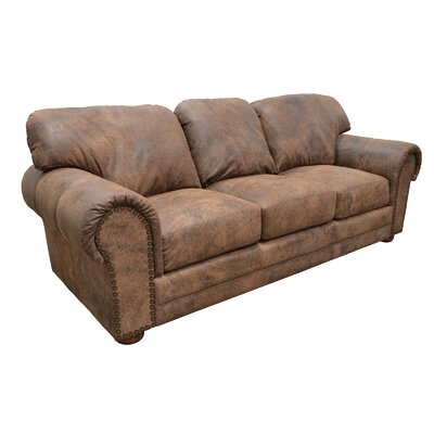 Omnia Leather Winchester Cheyenne Leather Sofa