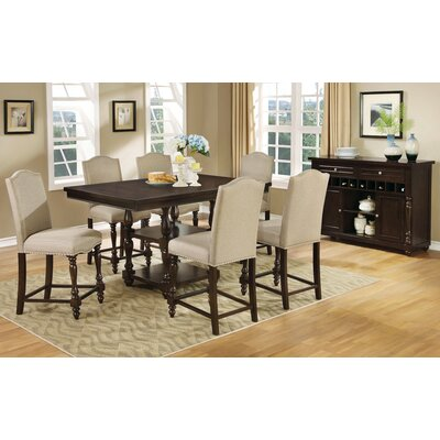 Darby Home Co Jennings Stewart 7 Piece Dining Set