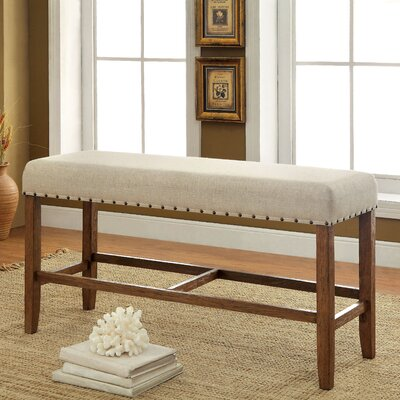 Darby Home Co Lancaster Upholstered Kitchen Bench