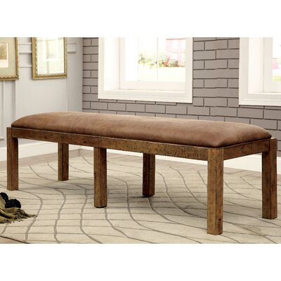 Loon Peak Marion Wood Kitchen Bench