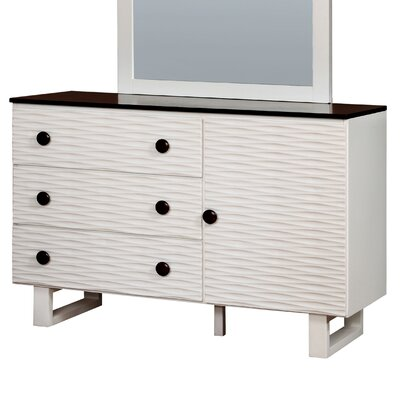 Enitial Lab Calset 3 Drawer Dresser