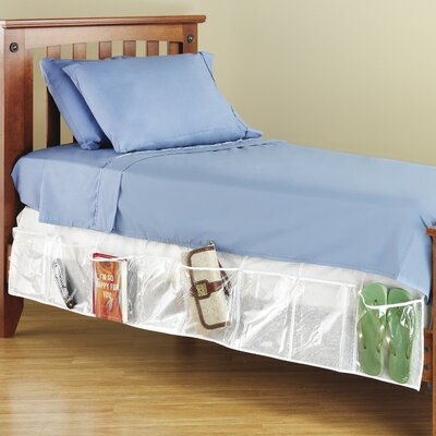 Whitmor, Inc Bed Skirt Organizer