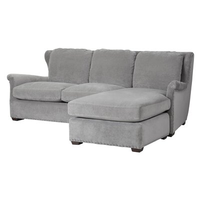 Universal Furniture Curated Reversible Chaise Sectional