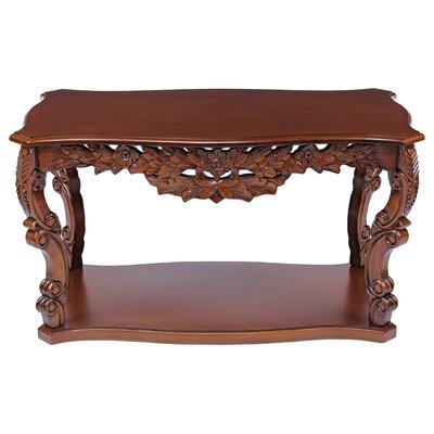 Design Toscano Saffron Hill Coffee Table
