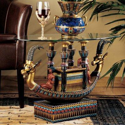 Design Toscano Egyptian Barge to The Beyo..