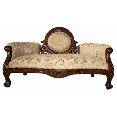 Design Toscano Victorian Cameo-Backed Sofa