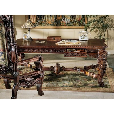 Design Toscano The Lord Raffles Lion Console Table