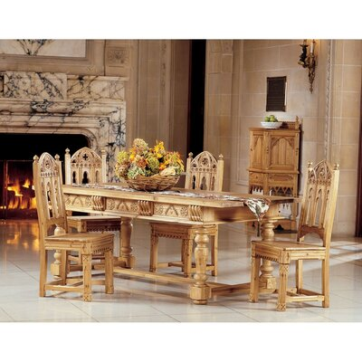 Design Toscano Sudbury 5 Piece Dining Set