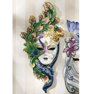 QUICK VIEW. Mask of Venice Peacock Wall Décor