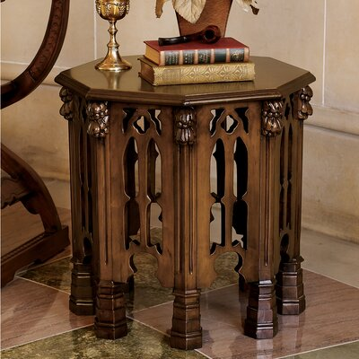 Design Toscano Gothic Revival End Table